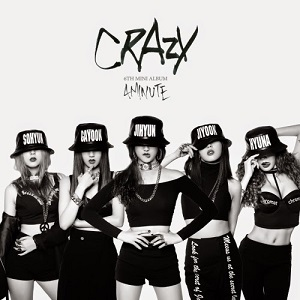Cover-4MINUTE – Crazy